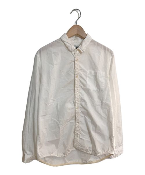 UNDERCOVER(アンダーカバー)UNDERCOVER (アンダーカバー) 縮絨シャツ ホワイト サイズ:3の古着・服飾アイテム