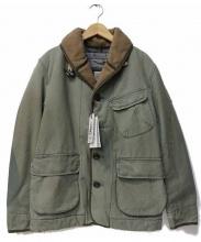 REPLAY(リプレイ)の古着「ミリタリージャケット」|カーキ