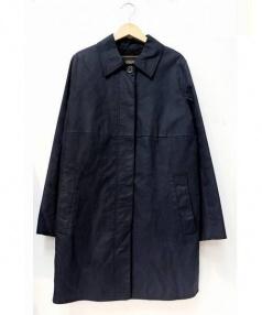 COACH(コーチ)の古着「ステンカラーコート」|ネイビー