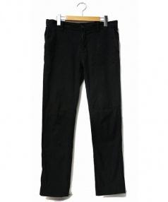 junhashimoto(ジュンハシモト)の古着「グログランパンツ」|ブラック