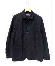 NEPENTHES(ネペンテス)の古着「ジャガードラペルカバーオール」|ブラック