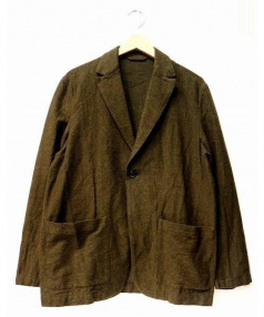 nestrobe confect(ネストローブ コンフェクト)の古着「アンコンジャケット」|オリーブ