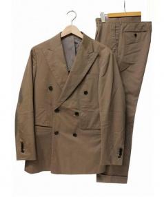 RING JACKET(リングジャケット)の古着「セットアップスーツ」 ベージュ