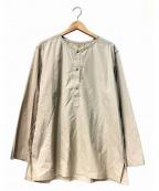 MAISON FLANEUR(メゾン フラネウール)の古着「セラフシャツ」 グレー