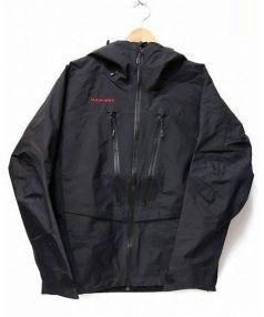 MAMMUT(マムート)の古着「グレーシャープロジャケット」|ブラック