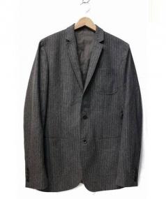 D&G DOLCE & GABBANA(D&G ドルチェ&ガッバーナ)の古着「ウールテーラードジャケット」|グレー