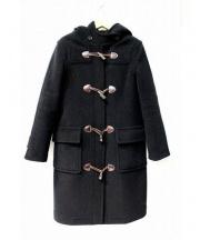 OLD ENGLAND(オールドイングランド)の古着「ヘリンボーンダッフルコート」 ブラック