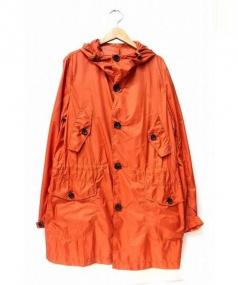 NINE THREE QUARTER(ナインスリークウォーター)の古着「NTQ マウンテンパーカー」|オレンジ