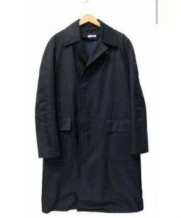 PARMENTIER(パルマンティエ)の古着「ライナー付ステンカラーコート」 ブラック