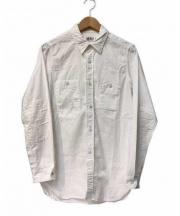 FWK ENGINEERED GARMENTS(FWKエンジニアード ガーメンツ)の古着「スーパーファインポプリンワークシャツ」 ホワイト