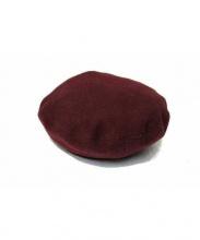 HERMES(エルメス)の古着「カシミヤベレー帽」|ボルドー