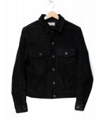 JOURNAL STANDARD relume(ジャーナルスタンダード レリューム)の古着「スウェードレザージャケット」|ブラック
