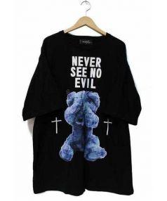 MILK BOY(ミルクボーイ)の古着「ビッグシルエットTシャツ」|ブラック