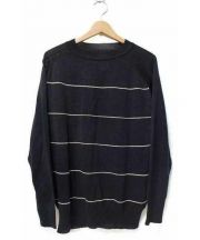 THE NERDYS(ナーディーズ)の古着「Border Knit Pullover」|ネイビー