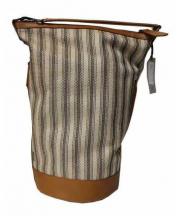 ZANELLATO(ザネラート)の古着「2WAYワンショルダーバッグ」|ベージュ×ブラウン