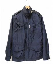 POLO RALPH LAUREN(ポロ バイ ラルフローレン)の古着「M-65ナイロンジャケット」|ネイビー