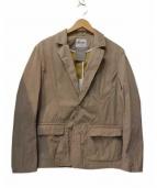 FACTOTUM(ファクトタム)の古着「ナイロンパッカブル2Bジャケット」 ベージュ