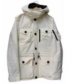 junhashimoto(ジュンハシモト)の古着「PCT SAFARI BLOUSON」|ホワイト