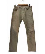 Ron Herman Vintage(ロンハーマン ヴィンテージ)の古着「リペア加工スウェットパンツ」|ベージュ