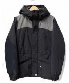 A BATHING APE(アベイシングエイプ)の古着「スノーボードジャケット」|グレー×ブラック