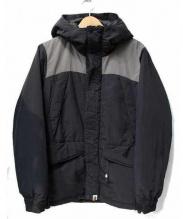 A BATHING APE(ア ベイシング エイプ)の古着「中綿ジャケット」|グレー×ブラック