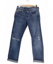 Ron Herman(ロンハーマン)の古着「セルビッチデニムパンツ」|インディゴ