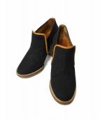 ISABEL MARANT(イザベルマラン)の古着「70'S CAMVAS BOOTS」|ブラック