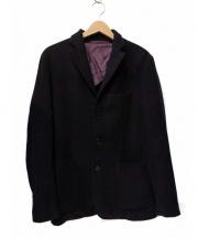 BARENA(バレナ)の古着「ウールテーラードジャケット」|パープル