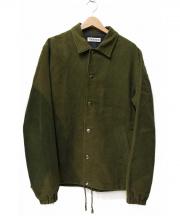 TRES BIEN(トレビアン)の古着「モールスキンコーチジャケット」|オリーブ