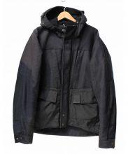 C.P COMPANY(シーピーカンパニー)の古着「ウール切替マウンテンパーカー」 ブラック