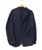 COMOLI(コモリ)の古着「コットンツイルジャケット」 ネイビー