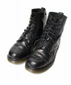 Dr.Martens(ドクターマーチン)の古着「型押し8ホールブーツ」|ブラック