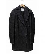 CINOH(チノ)の古着「ダブルチェスターコート」|チャコールグレー