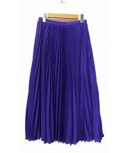 LE CIEL BLEU(ルシェルブルー)の古着「Georgette Pleated Skirt」