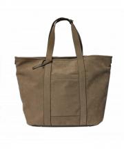 GALLERIANT(ガレリアント)の古着「スエードトートバッグ」|ベージュ