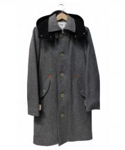 FACTOTUM(ファクトタム)の古着「メルトンアラスカンコート」|グレー