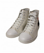 MARC JACOBS(マークジェイコブス)の古着「ハイカットキャンバススニーカー」|ホワイト