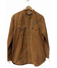 LEVIS VINTAGE CLOTHING(リーバイス ヴィンテージ クロージング)の古着「コーデュロイウエスタンシャツ」|ブラウン