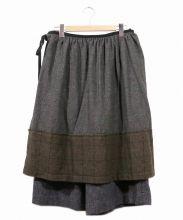 tricot COMME des GARCONS(トリココムデギャルソン)の古着「ツイードラップスカート」