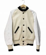 SKOOKUM(スクーカム)の古着「レザー切替アワードジャケット」
