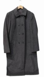 HUMAN WOMAN(ヒューマンウーマン)の古着「ウールビーバーコート」 グレー