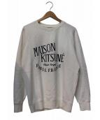 MAISON KITSUNE(メゾンキツネ)の古着「プリントスウェット」