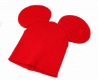 COMME des GARCONS SHIRT BOY(コム デ ギャルソン・シャツ ボーイ)の古着「ミッキー耳ニットキャップ」