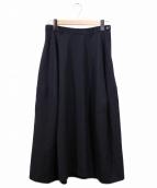 Ys(ワイズ)の古着「ギャバウールロングスカート」