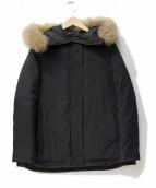 BARNYARDSTORM(バンヤードストーム)の古着「ラクーンファーダウンジャケット」|ブラック