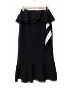 IRENE(アイレネ)の古着「アシンメトリースカート」