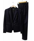 BOSCH(ボッシュ)の古着「シルクウールギャバセットアップスーツ」