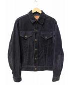 BONCOURA(ボンクラ)の古着「コールテンGジャン ジャケット」|ネイビー