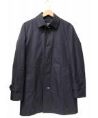 BLACK LABEL CRESTBRIDGE(ブラックレーベルクレストブリッジ)の古着「チェックライナー付ステンカラーコート」