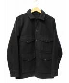 FILSON GARMENT(フィルソンガーメント)の古着「マッキーノクルーザージャケット」|ブラック